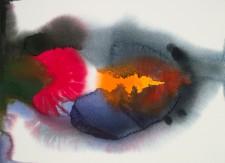 """""""Rare and Undisturbed"""" watercolor 22"""" x 30"""" 2012"""