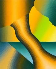 """Evergiving, Everpresent"" oil on linen 70 x 86 cm 2014"