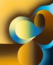 """Reconciliation: Original Being"" oil on linen 70 x 86 cm"