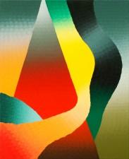 """The First Impulse"" oil on linen 53 x 65 cm 2014"